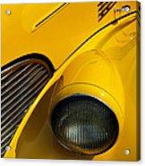 Yellow - D001178 Acrylic Print