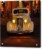 Yellow Lights On Acrylic Print