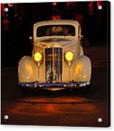 Yellow Lights On Version 2 Acrylic Print