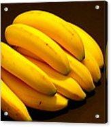 Yellow Ripe Bananas Acrylic Print by Jose Lopez