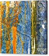 Yellow River Acrylic Print