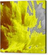 Yellow Sky Acrylic Print
