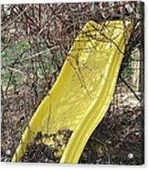 Yellow Slide Acrylic Print