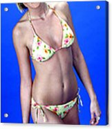 Yellow Swim 13-crop Acrylic Print