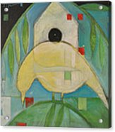 Yellowbird Whitehouse Acrylic Print