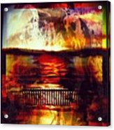 Yellowstone Hell (billirubin Remix) Acrylic Print by Artemis Sere