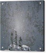 Yellowstone National Park, Winter View Acrylic Print