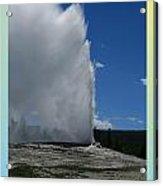 Yellowstone Np 005 Acrylic Print