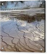 Yellowstone Reflection Acrylic Print