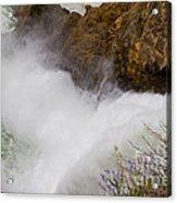 Yellowstone Waterfall Acrylic Print