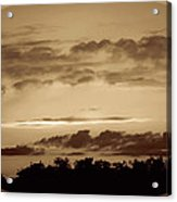 Yesteryears Sunset Acrylic Print