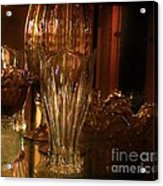 Yesturdays Glass Collection Acrylic Print