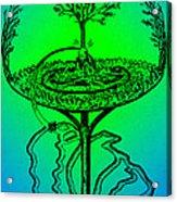 Yggdrasil From Norse Mythology Acrylic Print