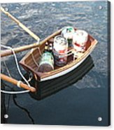 Yo Ho Ho And A Skiff Full Of Beer Acrylic Print