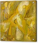 Yo Yo Gold Acrylic Print