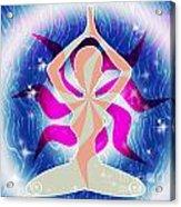 Yoga Energy Acrylic Print
