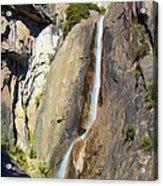 Yosemite Falls Rainbow Acrylic Print