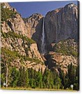 Yosemite Fall's Spring Flow Acrylic Print