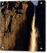 Yosemite Falls Winter Morn' Acrylic Print