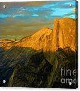 Yosemite Golden Dome Acrylic Print