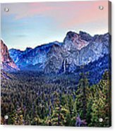 Yosemite Valley From Tunnel Acrylic Print