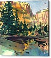 Yosemite Valley in January Acrylic Print