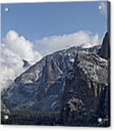 Yosemite Valley Panoramic From Tunnel View Acrylic Print
