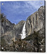 Yosemite Water Fall Acrylic Print