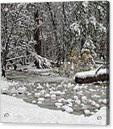 Yosemite Winter Acrylic Print by Heidi Smith