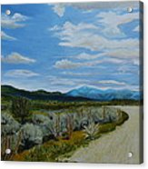 You Take The High Road.... Acrylic Print