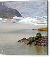 You Won't Believe Mendenhall Glacier Acrylic Print