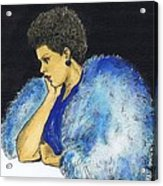 Young Billie Holiday Acrylic Print