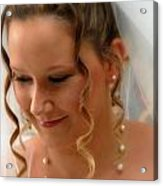 Young Bride Acrylic Print