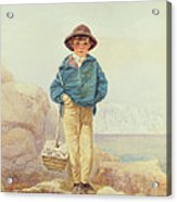 Young England - A Fisher Boy Acrylic Print