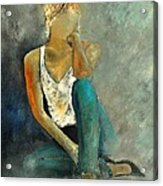 Young Girl 562190 Acrylic Print