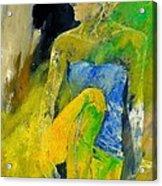 Young Girl 572180 Acrylic Print