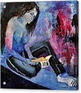 Young Girl 662160 Acrylic Print