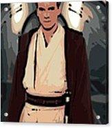 Young Obi Wan Kenobi Acrylic Print