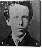 Young Vincent Van Gogh, Dutch Painter Acrylic Print