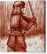 Young Warrior Acrylic Print