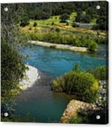 Yuba River California Acrylic Print