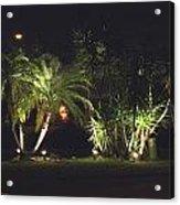 Yucca Spot Lighting Teakwood Island Acrylic Print