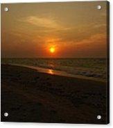 Yukatan Sunset Acrylic Print