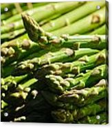 Yummy Asparagus Acrylic Print