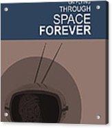 Yuri Gagarin Poster Acrylic Print