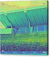 Yvr Vancouver International Airport Acrylic Print