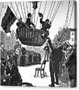 Zakharov's Balloon Flight, 1804 Acrylic Print by Ria Novosti