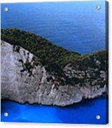 Zakynthos  Crocodile Island Greece Acrylic Print