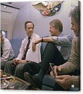 Zbigniew Brzezinski Michael Blumenthal Acrylic Print