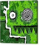 Zeeko - Green Acrylic Print